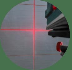 Niveau au laser